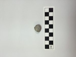 Musketball found at Kirby Brook