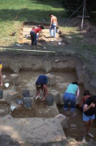 Overview of Templeton Excavation in progress