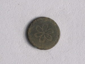 Button Recovered from the Venture Smith Excavation
